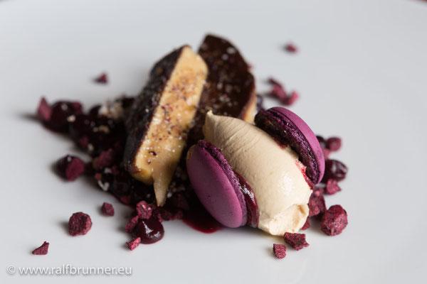 Variationen von foie gras