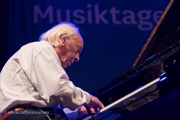 Donaueschinger Musiktage 2016: SWR NowJazz mit Fred van Hove
