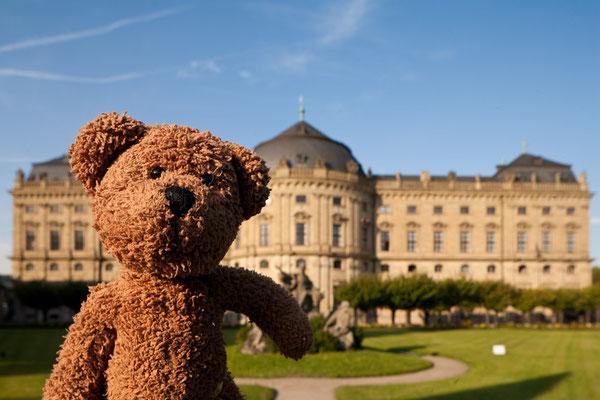 Die Gärten der Würzburger Residenz, meinem Zweitschloss für Dienstags.
