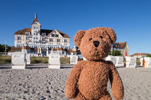Die Kühlungeborner haben nicht nur eine supersuper lange Seebrücke, die haben auch die längste Strandpromenade von allen überhaupt in ganz Deutschland!