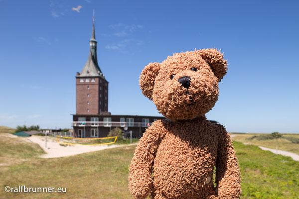Hier bin ich auf der Nordseeinsel Wangerooge.
