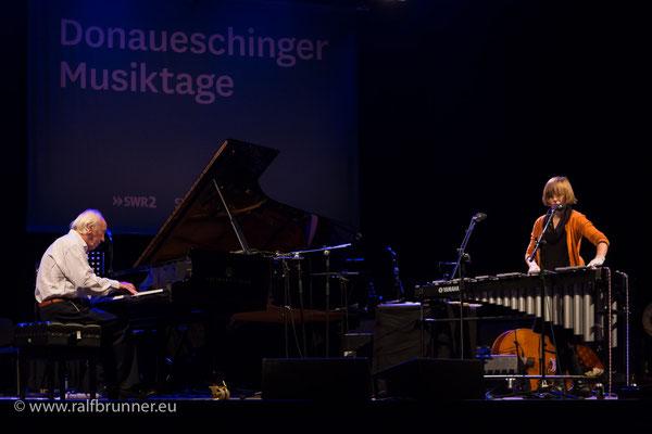 Donaueschinger Musiktage 2016: SWR NowJazz mit Fred van Hove und Es Vandeweyer