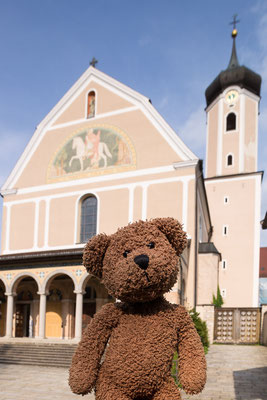 Wenn ich einmal keusch wär: hier im Kloster Beuron im Donautal kann man prima beten und innere Einkehr finden. Ich glaub, das ist aber auf Dauer nix für mich...
