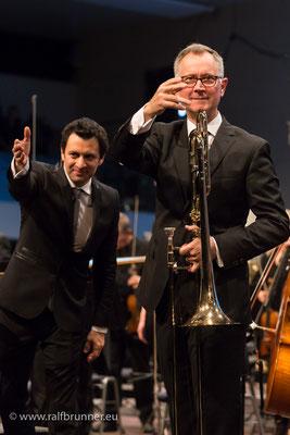 Donaueschinger Musiktage 2016 Dirigent Pérez und Posaunist Svoboda