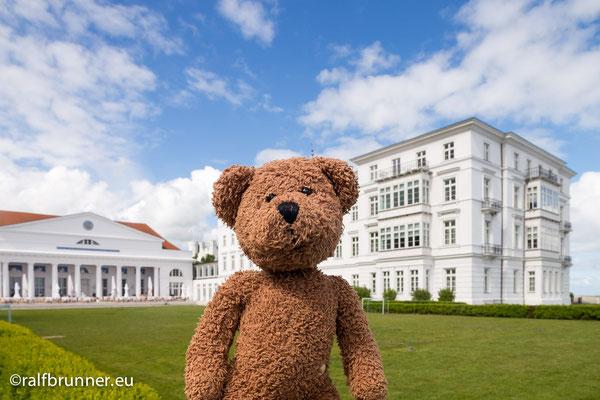 Das Grand Hotel von Heiligendamm bei Bad Doberan. Ich logiere gerne dort