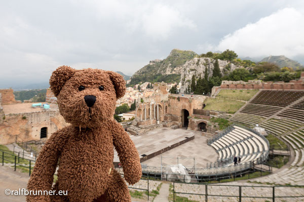 Und nochmal Taormina. Dort haben die ein beeindruckendes Amphibien-Theater