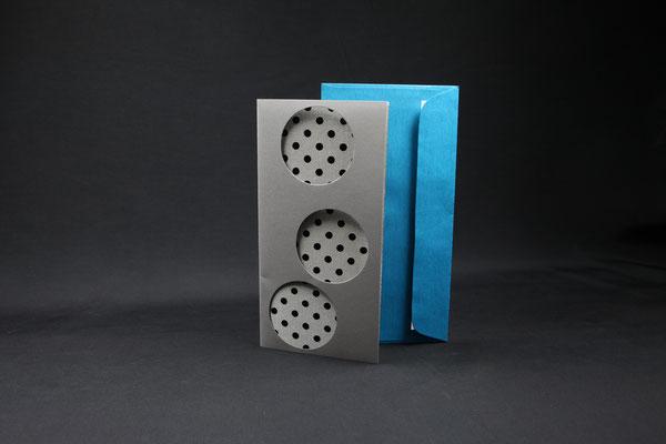 Schreibkarte mit Doppeljacquard-Gewebe CHF 7