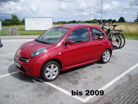 Nissan Micra bis 2008 mit Zelt