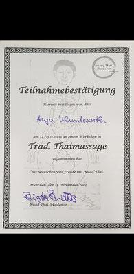 Fortbildung Thaimassage