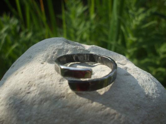 anneau ouvert en inox