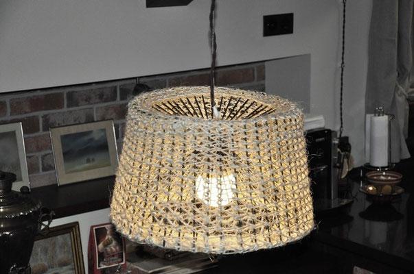 Готовая лампа.
