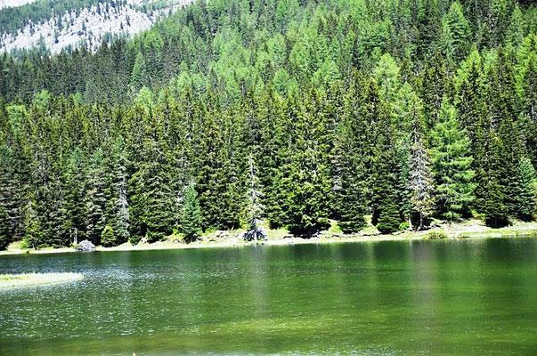 Австрия Горное озеро