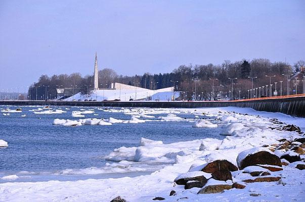 Эстония берег у русалки