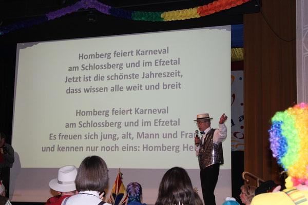 """2019, Showabend: """"Der Böth'ser"""" mit seiner ultimativen KCV-Hymne!"""
