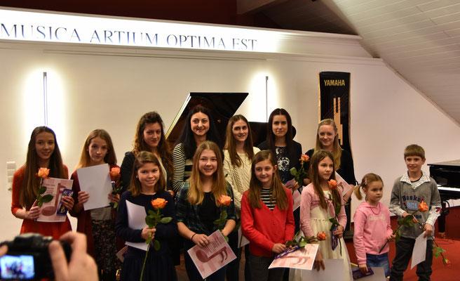 Klavierklasse von Maria Streltsova,