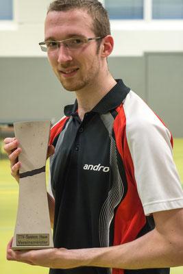 Unser Vereinsmeister Florian