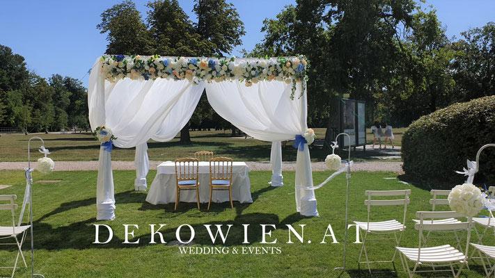 Hochzeit Pavillon Verleih