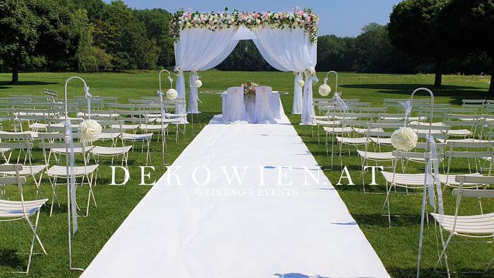 Hochzeit Teppich