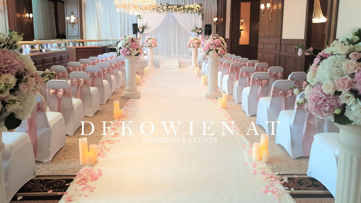 Hochzeit Dekoration im Interkontinental