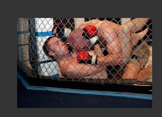 MMA professional fight in Darmstadt (2012)