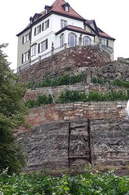Weingarten, Steinerne Bibel, Max-Klinger-Haus