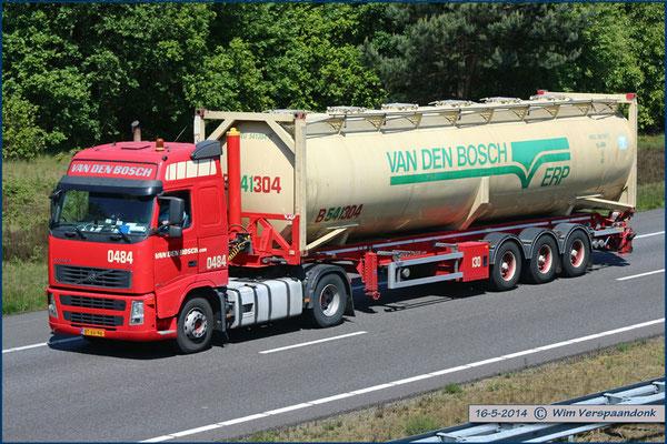 Fleetnumber 0451 0500 Van Den Bosch Transporten