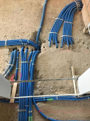 Elektrorohbau: Spitzen, Fräsen, Bodenleitungen