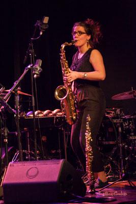 Nefertiti Quartet : Camille Maussion. Festival JAZZ360 2021. Cénac, le samedi 5 juin 2021. Photographie © Christian Coulais