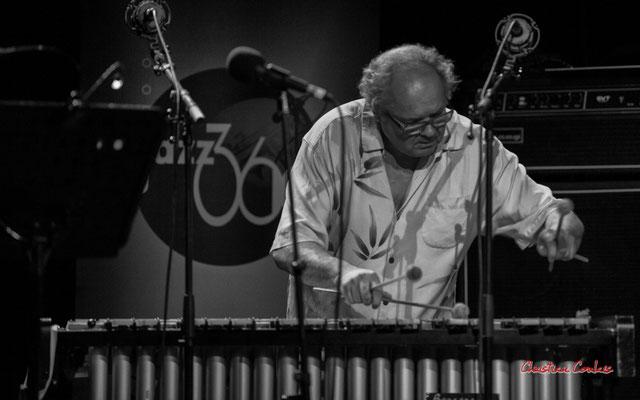 Christian Paboeuf, vibraphone; Christian Paboeuf Quartet, Festival JAZZ360 2021. Cénac, samedi 5 juin 2021. Photographie © Christian Coulais