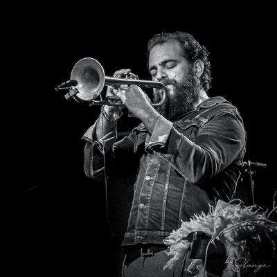 Nicolas Gardel; Høst invite Nicolas Gardel. Festival JAZZ360, vendredi 4 juin 2021, Cénac. Photographie © Solange Lemoine