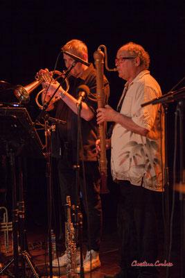 Régis Lahontâa, Christian Paboeuf; Christian Paboeuf Quartet, Festival JAZZ360. Cénac, samedi 5 juin 2021. Photographie © Christian Coulais