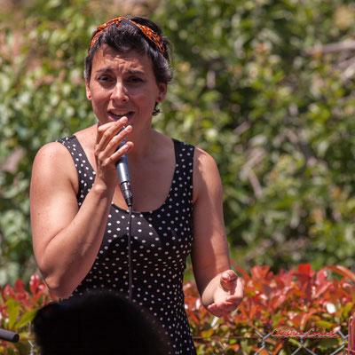 Lily Westphal; Happpy Devils. Restaurant les Acacias, Cénac. Samedi 5 juin 2021. Photographie © Christian Coulais