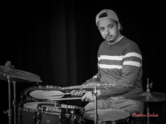 Nicolas Girardi; Aurora Quartet. Salle culturelle de Cénac. Jeudi 22 avril 2021. Photographie © Christian Coulais