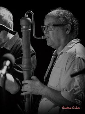 Christian Paboeuf, hautbois; Christian Paboeuf Quartet, Festival JAZZ360 2021. Cénac, samedi 5 juin 2021. Photographie © Christian Coulais
