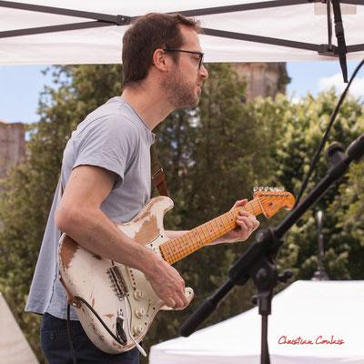 Francis Larue; Cissy Street. Festival JAZZ360, Quinsac. Dimanche 6 juin 2021. Photographie © Christian Coulais