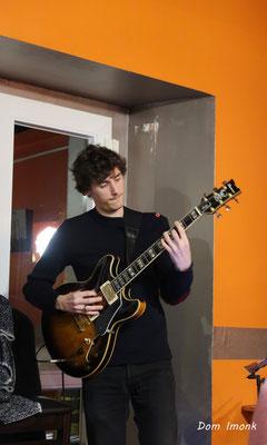SoupéJazz360, Jean-Loup Siaut (guitare). Restaurant les Acacias, samedi 14 mars 2020