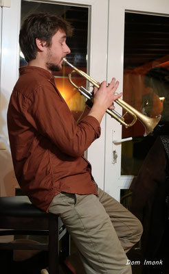 SoupéJazz360, Paolo Chatet (trompette). Restaurant les Acacias, samedi 14 mars 2020