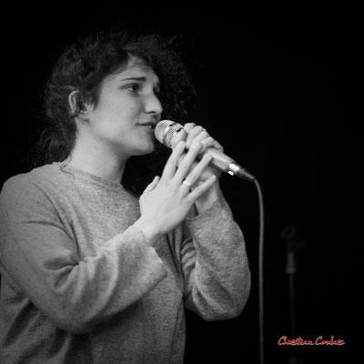 Emmeline Marcon; Aurora Quartet. Salle culturelle de Cénac. Jeudi 22 avril 2021. Photographie © Christian Coulais