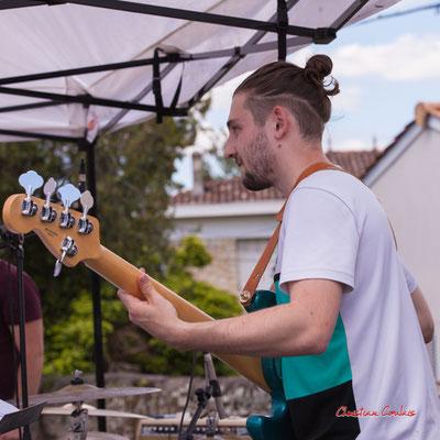 Noé Berne; Cissy Street. Festival JAZZ360, Quinsac. Dimanche 6 juin 2021. Photographie © Christian Coulais