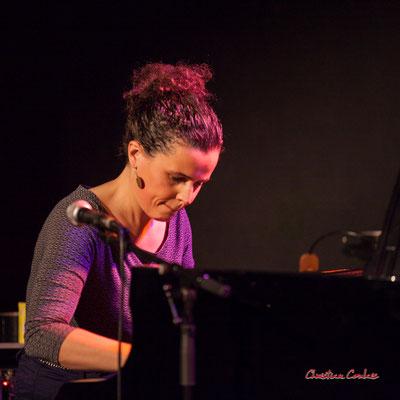 Nefertiti Quartet : Delphine Deau. Festival JAZZ360 2021. Cénac, le samedi 5 juin 2021. Photographie © Christian Coulais