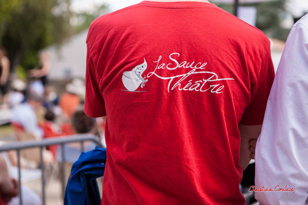 La Sauce Théâtre au Festival JAZZ360 2021. quinsac, dimanche 6 juin 2021. Photographie © Christian Coulais