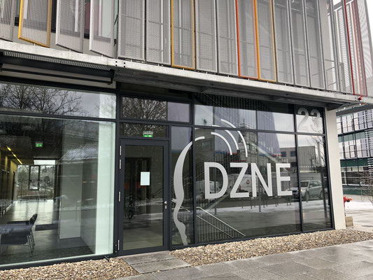 DZNE-Gebäude Nahaufnahme