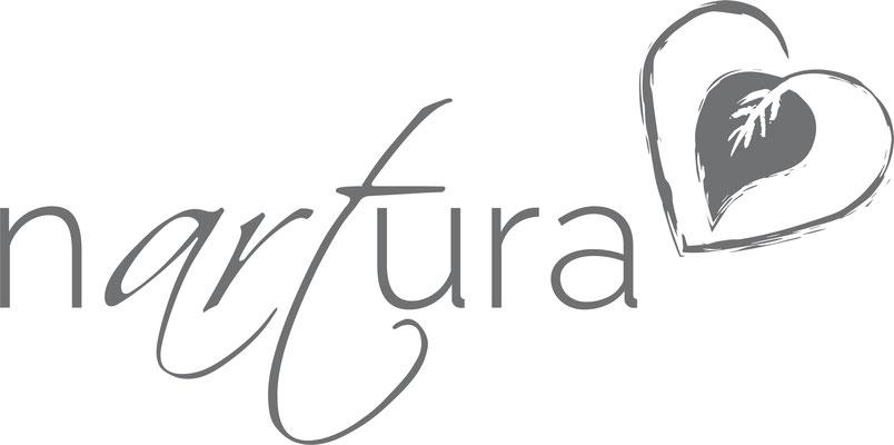 Nartura Label für Kunstkarten auf Naturpapier