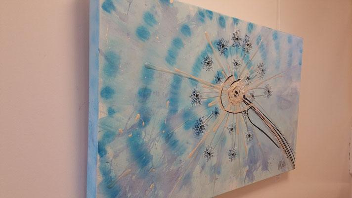 Eisblume 60 x 120 cm