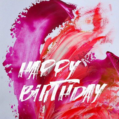 "Geburtstagskarte ""Ruby Birthday"""