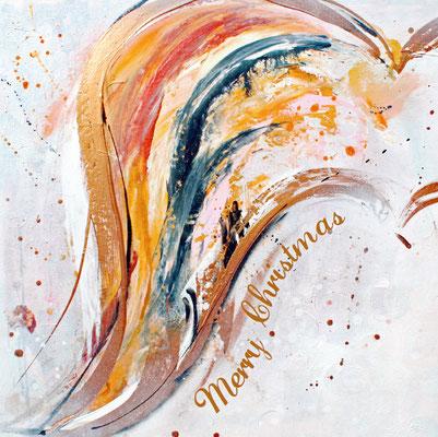 Wing of hope (Weihnachtskarte für die Stiftung Sternschnuppe)