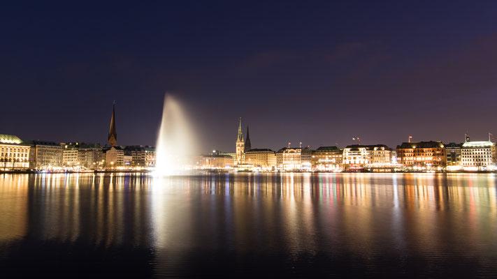 Alter-Panorama bei Nacht