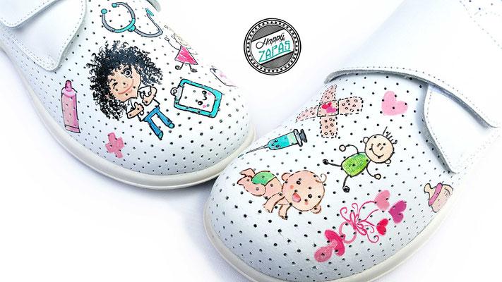 comprar online bf7b7 f0d30 enfermero cañero - Zapatillas personalizadas