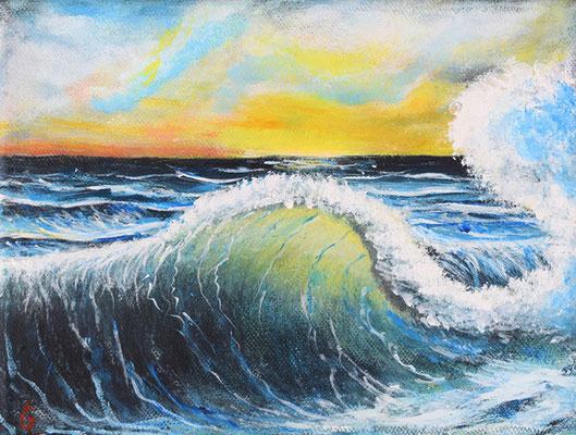 Bild-Nr. 7758 Titel: Mal weg sein - Meereskonzert