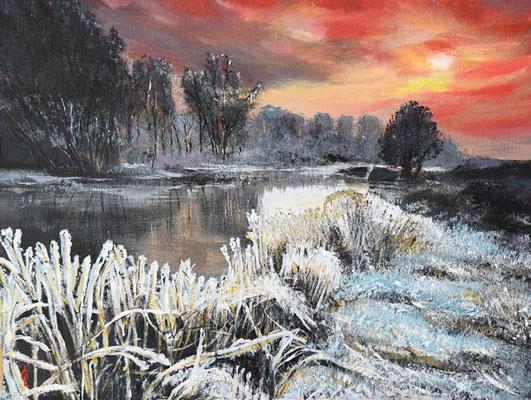 Bild-Nr. 7752 Titel: Der erste Frost